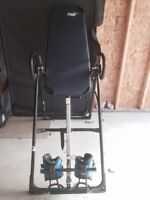 HangUps F8000 high end USA build Inversion Table 0 gravity boots