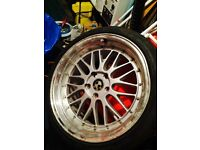 19 BBS LM STYLE Bmw e36 e46 e90 e91 e92 3 series, 1 series no offers STAGGERED