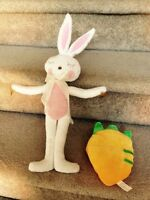 Bunny and carrot stuffy