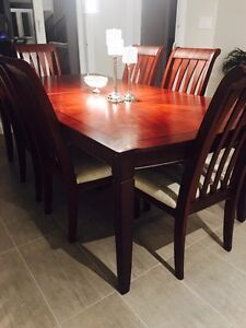 Dinning table and 6 chairs London Ontario image 2