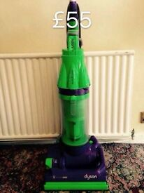 DYSON DC07 FULLY SERVICED MINT CONDITION SIX MONTHS WARRANTY GREEN