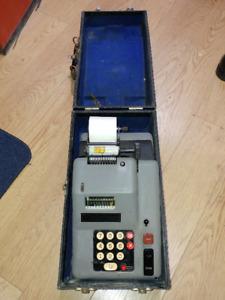 Barrett Adding Machine Lanston Monotype Model b192e Calculator