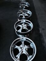 """^^*** 20"""" UNIVERSAL 5 BOLT 5x114.3 and 5x112"""