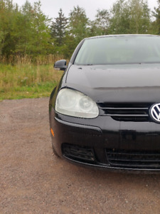 2008 Black Volkswagen Rabbit