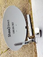 Shaw Direct Dish and LNB for sale.