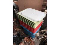 Twelve Trofast boxes for sale worth £30