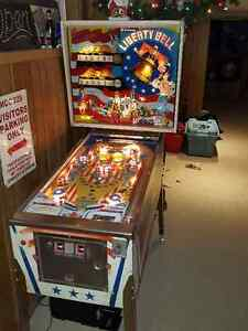Liberty Bell Pinball Machine for sale