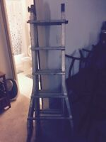 Ladder JLT SERIES collapsible and extendable