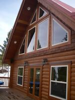 The Montana Log Cabin Kit - On Sale Now! Call For More Info.
