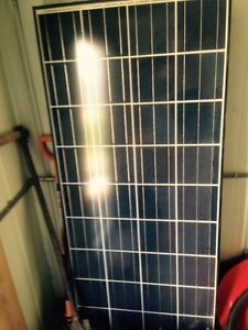 Solar panels with batteries
