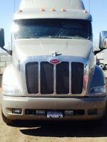 2008 Peterbilt 389 with rebuilt engine