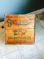 Very cool old wooden box