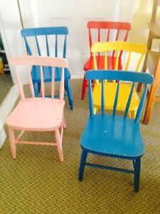 Vintage Bass River Children's Chairs