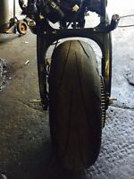 200mm wide tire kit