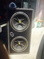 """12"""" kickers in box with digital cap"""