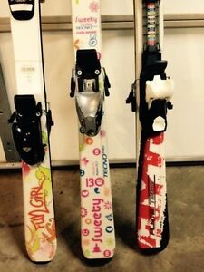 Junior kids skis 120cm and 130cm Edmonton Edmonton Area image 3