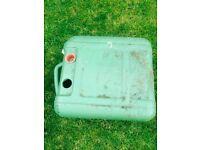 Waste water barrel