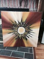 Mid Century Modern R Parret Big Painting