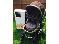 ICandy Peach Travel system in Black jack