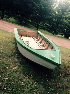 Handcrafted Solid Wood Boat