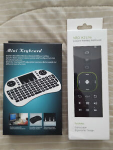 NEW MINIX A2 AIRMOUSE + WIRELESS MINI KEYBOARD