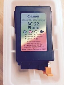 NEW Canon BC-22 Photo Ink Cartridges For BJC-4200 & BJC-4550 Ink
