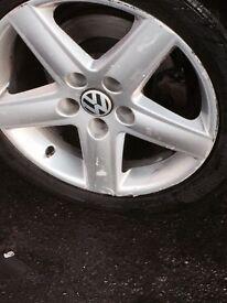 """Audi A3 17"""" Alloys - a4 VW golf Passat"""