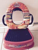Siege de toilette & banc Flash Mc Queen