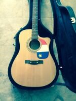 Fender CD-60CE acoustic electric guitar