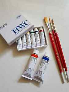 Holbein Watercolours And Brushes