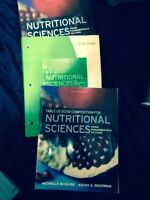 Nutritional sciences text books and study guide