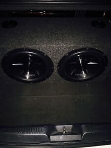 ^^** CLARION SUBWOOFERS IN BOX WITH MATCHING AMP!! Kitchener / Waterloo Kitchener Area image 2
