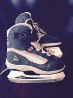 Youth size 12 soft boot skates
