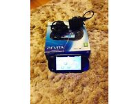 Ps vita with box and Fifa game