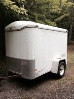 Inclosed Cargo Trailer 5 x 8 x 5ft high.