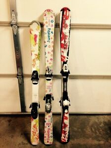 Junior kids skis 120cm and 130cm Edmonton Edmonton Area image 1