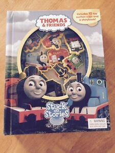 Thomas Book with Toy Suction Cups Sarnia Sarnia Area image 1