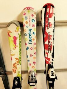 Junior kids skis 120cm and 130cm Edmonton Edmonton Area image 2