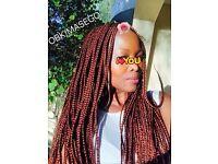 Afro-Caribbean & European/ Asian hair stylist - Braids, Twists, Crochet, Ghana Cornrows