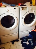 Front loader washer & dryer