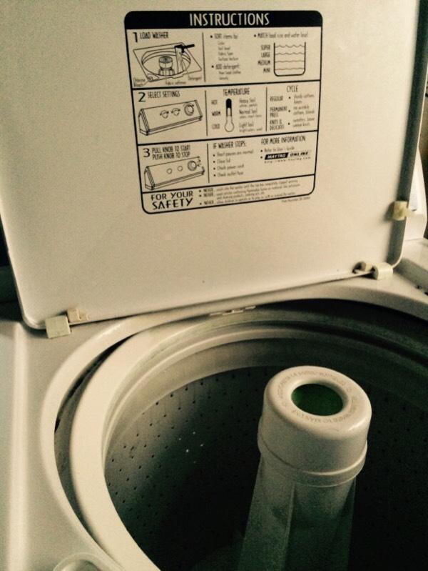 washing machine admiral