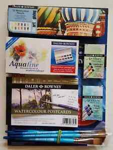 Daler Rowney Watercolour Kit