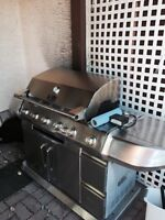 Gas bbq 3 years old $250