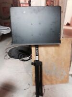 On stage heavy duty music stand