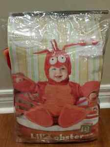 Lil' Lobster Baby Halloween Costume