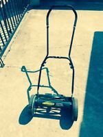 Yard works push mower