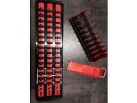 Snap On. Socket rail / Spanner rack & Plier holder