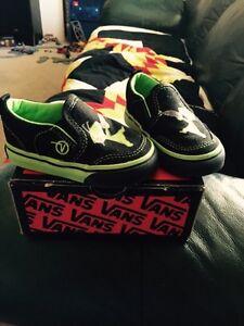 Boys toddler shoes (vans brand)