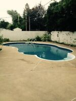 Big 7 1/2 with fenced inground pool in Chomedey Laval