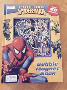 Spider-Man Bubble Magnet Book